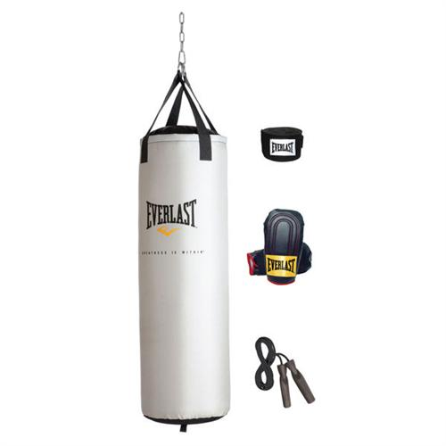 Everlast Platinum Heavy Bag Kit (80 lb)